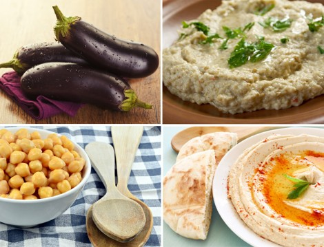 Humus ve Patlıcan Ezme Tarifi