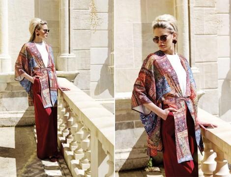 Kuaybe Gider Tesettür Kimono Modeli