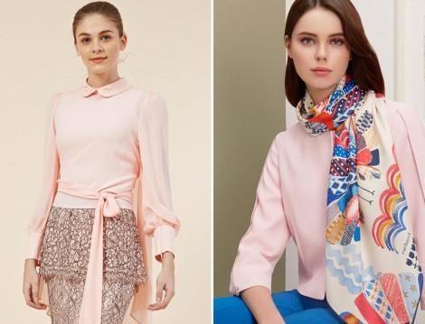 Pembe Gömlek ve  Bluz Modelleri