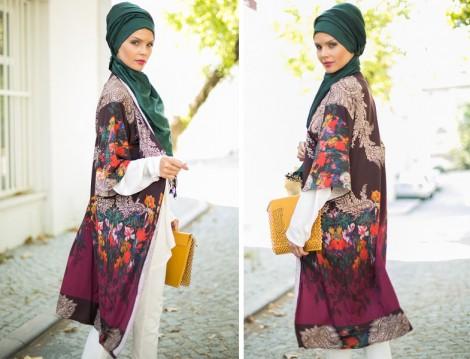 Refka Tesettür Kimono Modeli