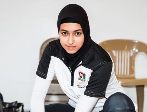 Başarılı Halterci Amna Al Haddad İle Keyifli Bir Söyleşi