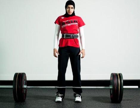 Başarılı Halterci Amna Al Haddad İle Röportaj