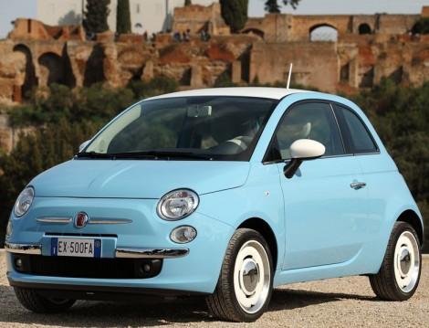 Bayanlara En Uygun Otomobil Fiat 500 Vintage