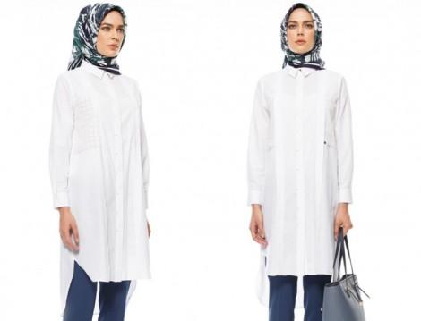 Kayra 2015-16 Sonbahar Kış Beyaz Tunik Modelleri