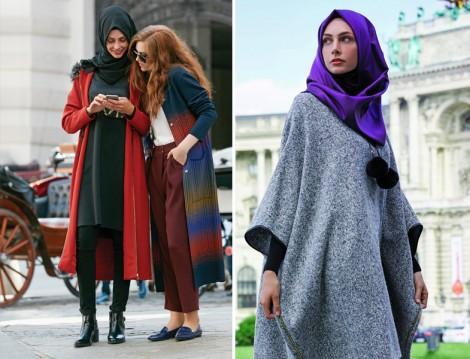 20 Yaşa Öze Tesettür Giyim Modelleri