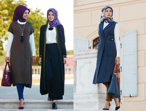 30 Yaşa Öze Tesettür Giyim Modelleri