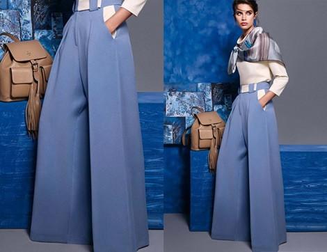 Geniş Paça Pantolon Nasıl Giyilir?