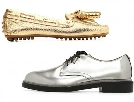 Beymen Metalik Renk Ayakkabı Modelleri