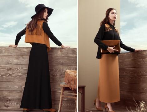 Kuaybe Gider 2015-16 Sonbahar Kış Bohem Stil Giyim Modelleri