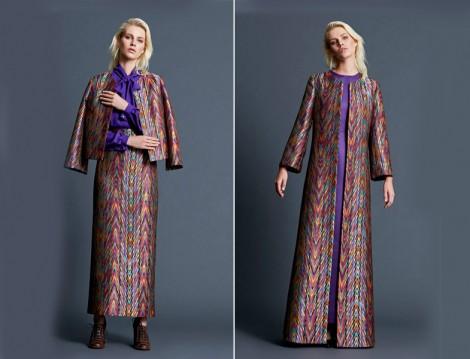 Mimya 2015-16 Sonbahar Kış Etnik Desen Giyim Modelleri