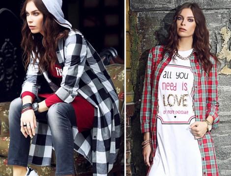 MoodBasic 2015-16 Sonbahar Kış Tunik Modelleri
