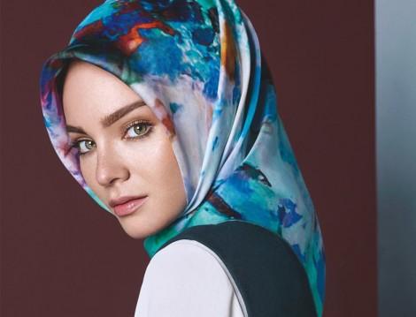 Narin Eşarp - Aker Eşarp Modelleri