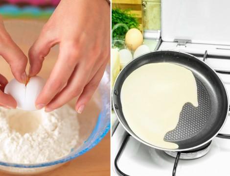 Peynirli Krep Börek Tarifi