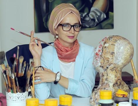 Ressam Fatma Zeynep Çilek İle Şiirsel Söyleşi