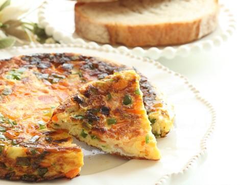 Renkli ve Besleyici Sebzeli Omlet Tarifi