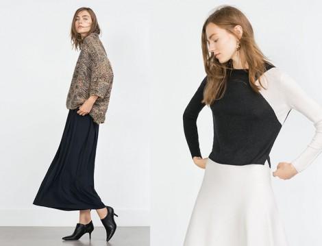 Sonbahar Etek Kombinleri Zara