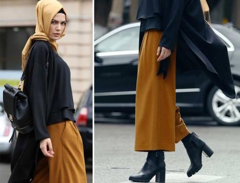 Tuğba Venn 2015-16 Bol Paça Pantolon Modelleri