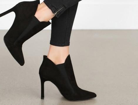 Zara 2015-16 Sonbahar Kış Ayakkabı Modelleri