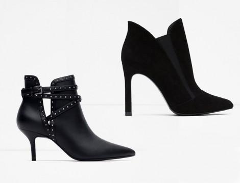 Zara 2015-16 Sonbahar Kış Bootie Modelleri