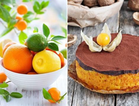 Çikolata Ganajlı Portakallı Kek Tarifi