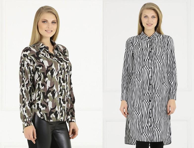 2015-16 Sonbahar Kış Büyük Beden Tesettür Giyim Modelleri (Faik Sönmez)