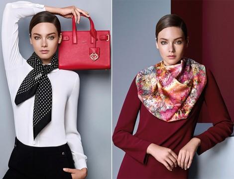 Aker 2015-16 Sonbahar Kış Kırmızı Giyim ve Çanta Modelleri
