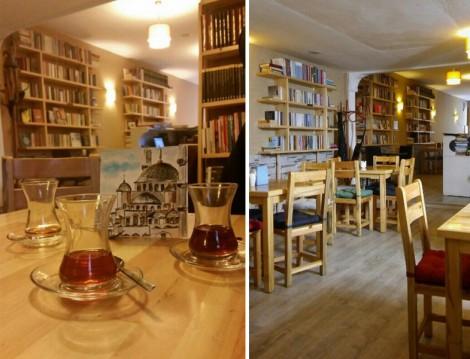 Alkolsüz Mekanlar Hermes Kitap Cafe Fatih