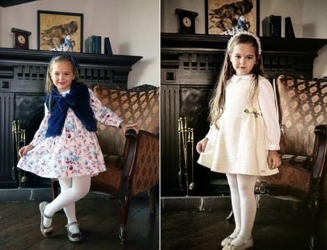 Annah Hariri 2015-16 Sonbahar Kış Çocuk Elbise Modelleri