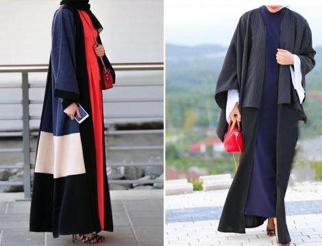 Annah Hariri 2015-16 Sonbahar Kış Abaya Modelleri