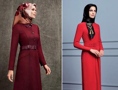 Armine 2015-16 Sonbahar Kış Kırmızı Giyim Modelleri