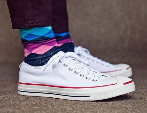 Desenli Çoraplar Nasıl Giyilir?