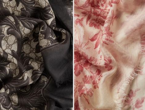 Gucci 2016 Eşarp ve Şal Modelleri