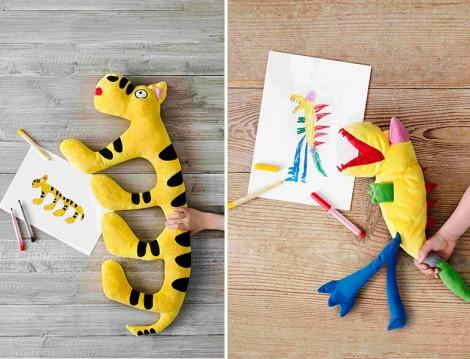 IKEA'da Çocukların Çizimleri Oyuncağa Dönüşüyor