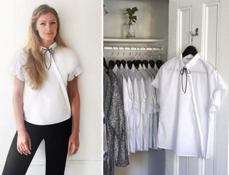 Matilda Kahl Beyaz Gömlek Modası