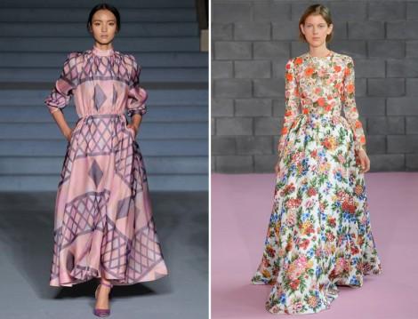 Renkli Uzun Elbise Modelleri 2016