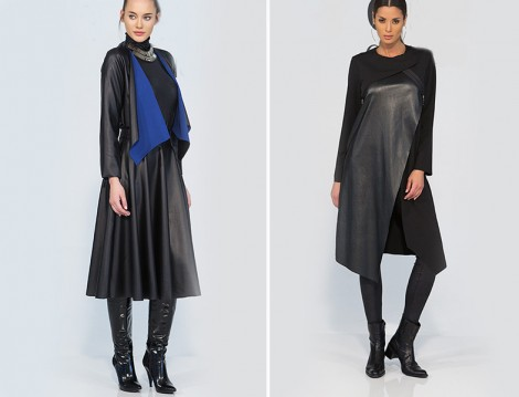 Tdee Concept 2015-16 Sonbahar Kış Deri Giiym Modelleri