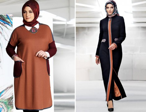 Tekbir 2016 Pardesü ve Büyük Beden Giyim Modelleri