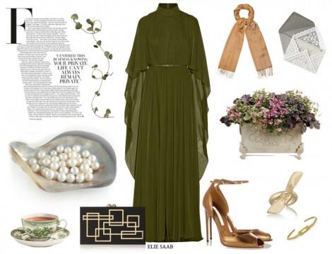 Tesettür Abiye Elbise Kombinleri 2016