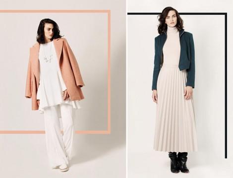 Touche 2015-16 Sonbahar Kış Beyaz Giyim Modelleri