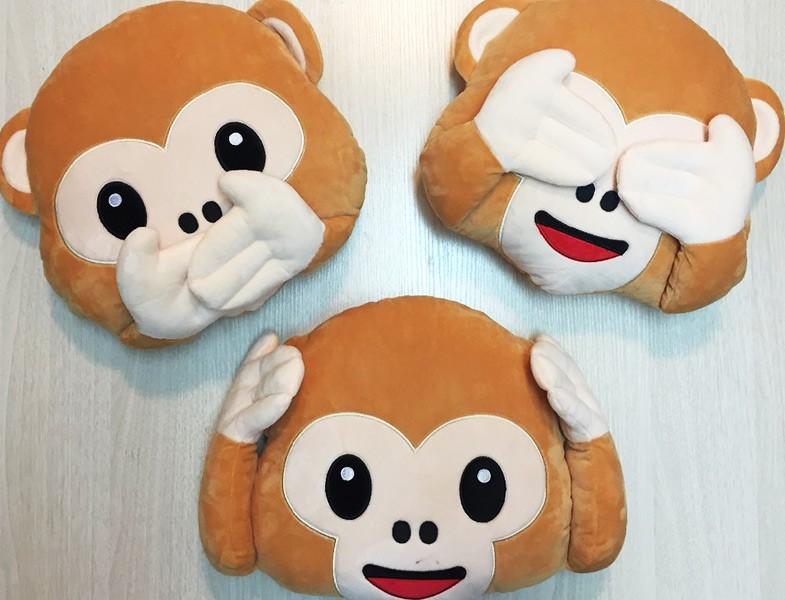 Utangaç Maymun Emoji