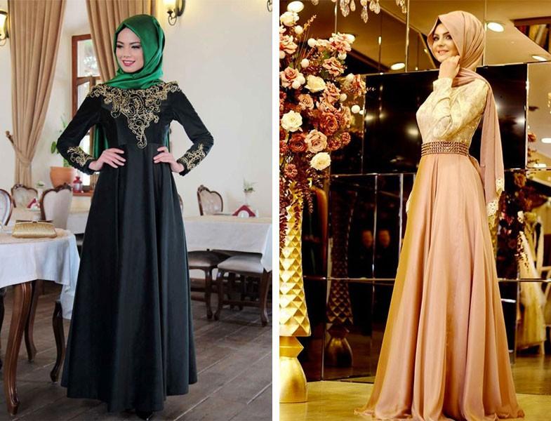 10a6438370728 Özel Tasarım Tesettür Abiye | Resimlerle Tesettür Giyim Modelleri ve ...