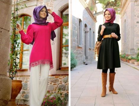 Özel Tasarım Tesettür Giyim Modelleri