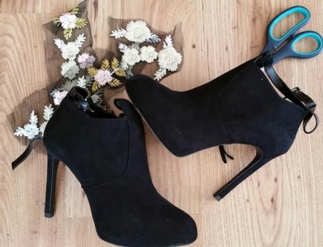 Aplike Dantel İle Ayakkabılar Nasıl Yenilenir