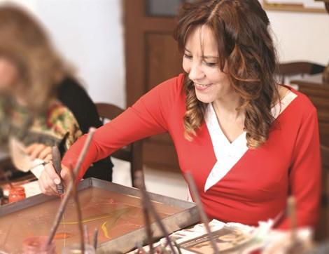 Ebru Sanatçısı Suna Koçal İle Sanatı Üzerine Röportaj
