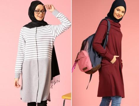 Genç Tesettür Giyim Modelleri 2016