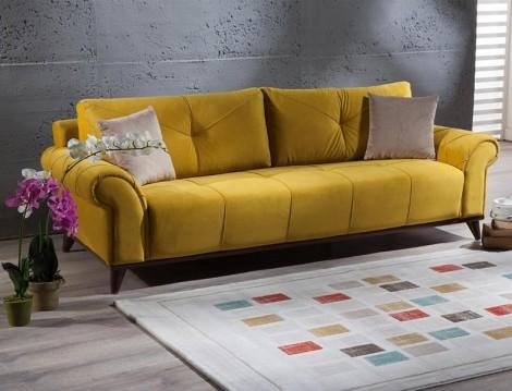 Hardal Sarısı Ev Dekorasyonu