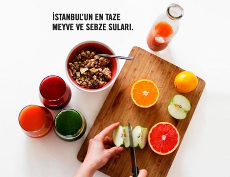 JÜS; Soğuk Preslenmiş Sebze ve Meyve Suyu