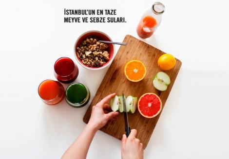 Jüs İstanbul Soğuk Preslenmiş Meyve Suları