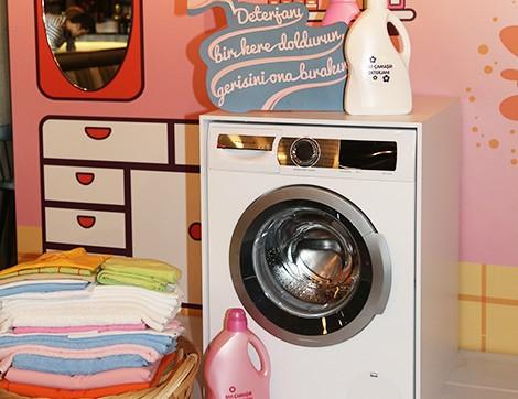 Elinin Ayarını Bilen Çamaşır Makinesi