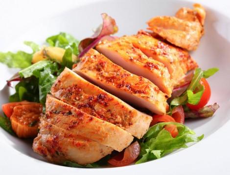 Sağlıklı Tavuk Yemeği